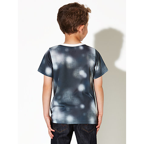Buy Kin by John Lewis Boys' Print T-Shirt, Blue Online at johnlewis.com