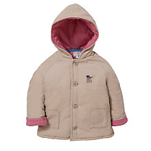 Buy John Lewis Baby Corduroy Jacket, Beige Online at johnlewis.com