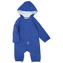 Buy John Lewis Baby Wadded Romper, Blue Online at johnlewis.com