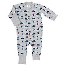 Buy Polarn O. Pyret Balloon All-Over-Print All In One, Grey/Multi Online at johnlewis.com