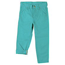 Buy Polarn O. Pyret Boys' Chinos, Blue Online at johnlewis.com