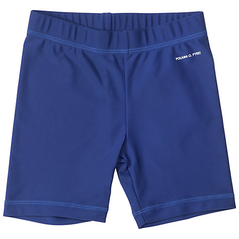 Buy Polarn O. Pyret UV Swim Shorts, Blue Online at johnlewis.com