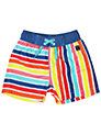 Polarn O. Pyret Stripe Swim Shorts, Multi