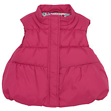 Buy John Lewis Quilt Gilet, Pink Online at johnlewis.com