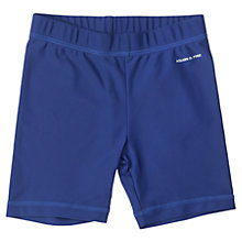 Buy Polarn O. Pyret Baby UV Swim Shorts, Blue Online at johnlewis.com