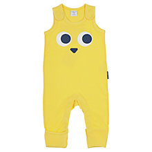 Buy Polarn O. Pyret Baby Animal Face Romper, Yellow Online at johnlewis.com