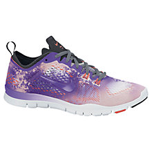 Buy Nike Women's Free 5.0 TR Fit 4 Cross Trainers, Purple/White Online at johnlewis.com
