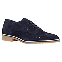 Buy Carvela Loot Flat Leather Brogue Shoes Online at johnlewis.com