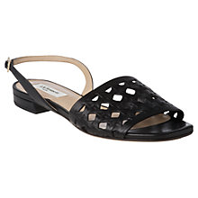 Buy L.K. Bennett Delia Leather Sandals Online at johnlewis.com
