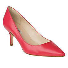 Buy L.K. Bennett Florisa Court Shoes, Raspberry Online at johnlewis.com