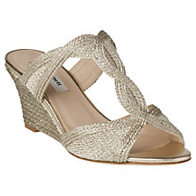 Buy L.K. Bennett Abbie Sandals, Soft Gold Online at johnlewis.com