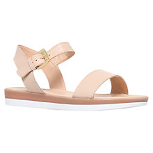 Buy Carvela Kasher Flat Leather Sandals Online at johnlewis.com