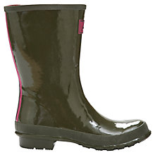 Buy Joules Kelly Welly Wellington Boots, Olive Online at johnlewis.com
