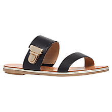 Buy Carvela Kall Flat Leather Sandals Online at johnlewis.com