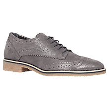 Buy Carvela Loot Flat Brogue Shoes Online at johnlewis.com
