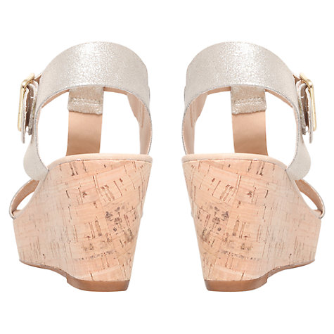 Buy Carvela Known Leather Wedge Heeled Sandals Online at johnlewis.com