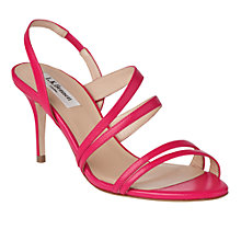 Buy L.K. Bennett Addie Leather Sandals Online at johnlewis.com
