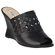 Buy L.K. Bennett Diana Leather Sandals Online at johnlewis.com