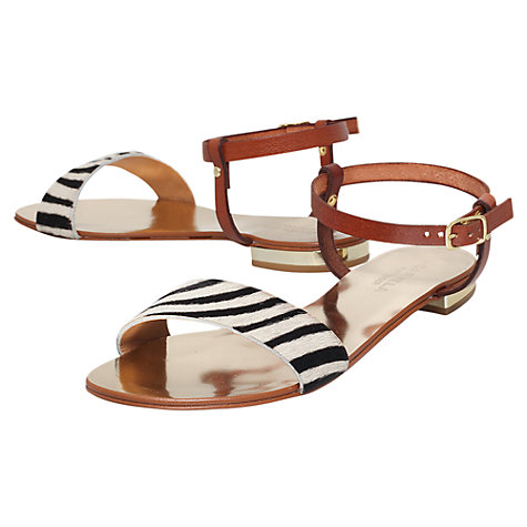 Buy Carvela Koala Leather Flat Sandals Online at johnlewis.com