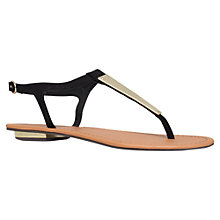 Buy Carvela Kindred Metal Paneled Sandals Online at johnlewis.com