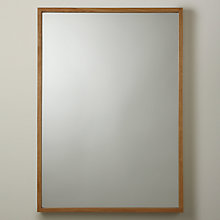 Buy Gallery Direct Scandi Oak Mirror, 135 x 43cm, Natural Online at johnlewis.com
