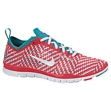 Buy Nike Women's Free 5.0 TR Fit 4 Cross Trainers, Red/White Online at johnlewis.com