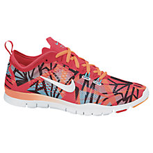 Buy Nike Women's Free 5.0 TR Fit 4 Cross Trainers, Red/Multi Online at johnlewis.com