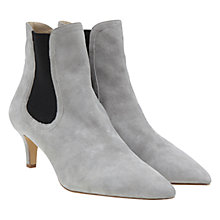 Buy Mint Velvet Poppy Ankle Boots, Grey Online at johnlewis.com