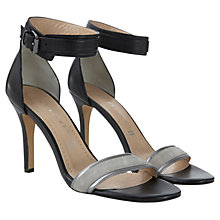 Buy Mint Velvet Lily Sandals, Black Online at johnlewis.com