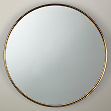 Buy John Lewis Fusion Black Rim Mirror Online at johnlewis.com
