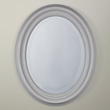 Buy John Lewis Croft Collection Oval Mirror, 50 x 40cm Online at johnlewis.com
