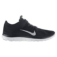 Buy Nike Free 4.0 Flyknit Women's Running Shoes, Black Online at johnlewis.com