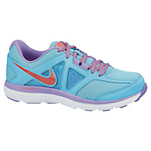 Buy Nike Women's Dual Fusion Lite 2 Running Shoes, Blue Online at johnlewis.com