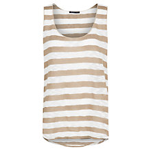 Buy Mango Striped Open Knit Vest Top Online at johnlewis.com
