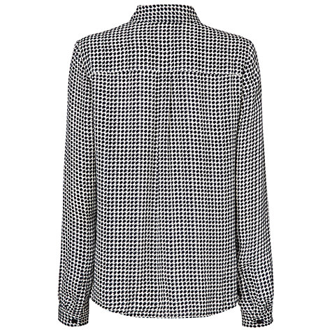 Buy Jaeger Georgette Dogtooth Blouse Online at johnlewis.com