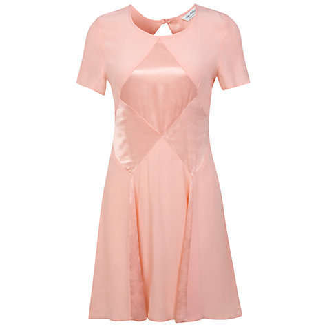 Buy Miss Selfridge Matt And Shine Dress, Pink Online at johnlewis.com