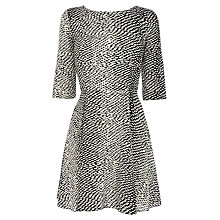 Buy Warehouse Spotty Skater Dress, Multi Online at johnlewis.com