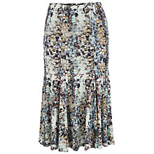 Buy Chesca Sequin Print Jersey Skirt, Opal Online at johnlewis.com