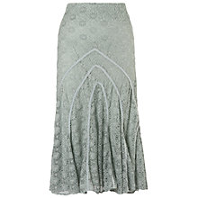 Buy Chesca Daisy Stretch Lace Skirt, Opal Online at johnlewis.com