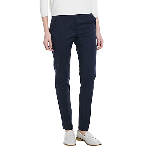 Buy Mango Slim-Fit Stretch Trousers Online at johnlewis.com