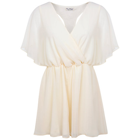 Buy Miss Selfridge Embellished Back Playsuit Online at johnlewis.com