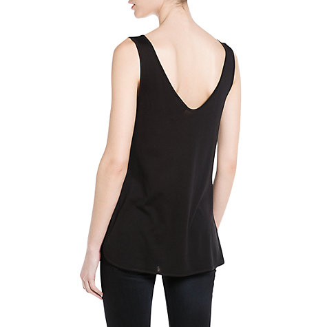 Buy Mango Rhinestone Vest Top Online at johnlewis.com