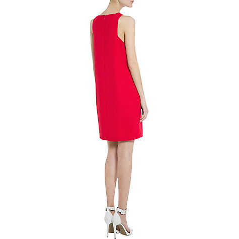 Buy Mango Crepe Shift Dress, Medium Pink Online at johnlewis.com
