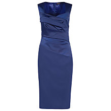Buy Alexon Sateen Dress, Blue Online at johnlewis.com