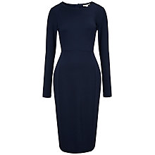 Buy Whistles Lucy Midi Dress, Navy Online at johnlewis.com