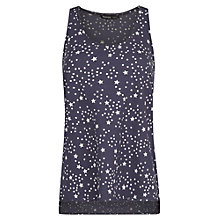 Buy Mango Star Print Top, Medium Blue Online at johnlewis.com