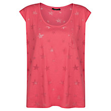 Buy Mango Star Print T-Shirt Online at johnlewis.com