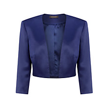Buy Alexon Sateen Bolero Jacket, Navy Online at johnlewis.com