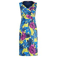 Buy Alexon Printed Cross Front Dress, Multi Online at johnlewis.com