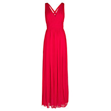 Buy Mango Silk Gown, Medium Pink Online at johnlewis.com